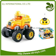 Wholesale alibaba cartoon kid rc car with sound and light