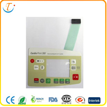 Customizable Membrane Switch Panel Single Sided Pressure Sensitive with SMD LED