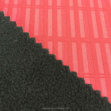 Plain PK fabric+TUP+Velboa Bonded waterproof fabric