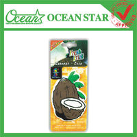 New promotion paper car air freshener
