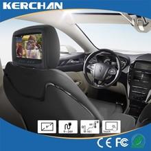 9 inç TFT LCD Monitör Kiralık, 1080p android araba kafalık monitör araba tv arka koltuk eğlence