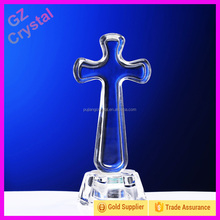 Crystal Glass Cross For Decorating Souvenirs