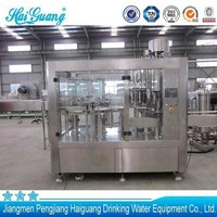 Factory good price automatic water bottle filling processing