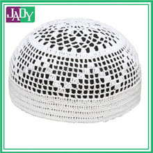 Custom Muslim Cotton Cap Cheap Hat White