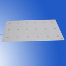 No dart shadow flat panel led lighting for outdoor light box backlit