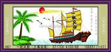 CHINESE SPECIFIC DESIGN BOAT CROSS STITCH SCHEMES