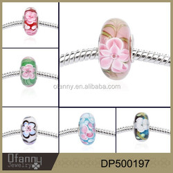 2015 yiwu jewelry latest design hot sale DIY glass crystal bead