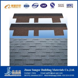 Indonesia fiberglass asphaltic shingle best quality supplier