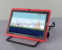 7 inch Google Android Tablet PC Allwinner A13 cortex-a8 Dual Camera 1.25Ghz 4GB 7inch multi-point capacitive(MID-A701)