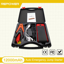 Car Jump Start,12000mAh Polymer battery Type and CE/ROHS/FCC Certification New car kit