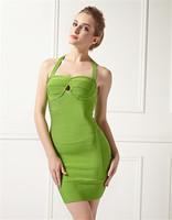 ebay wholesale halter neck pattern green modest evening dresses