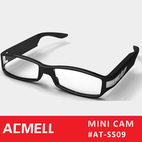 SS09 1920*1080 photo video camera glasses full hd