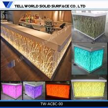 Bar counter design for sale/Artificial marble bar counter/Marble top mini bar
