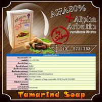AHA80% Alpha Arbutin tamarind soap