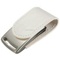 Bestrunner 4GB Portable Mini Leather Metal Silver USB 2.0 Flash Stick Memory Drive Storage pen drive camera memory
