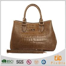 N1038B-A2374 2015 hot stylish bag croc leather handbag European Tote Bag