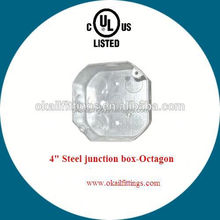 """4""""*4"""" mount cabinet octagon wall box"""