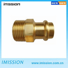 CNC Machining custom mede brass universal joint