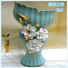 2015 designs modern vase insert gold plated vase for centerpiece or home decoration ceramic vase