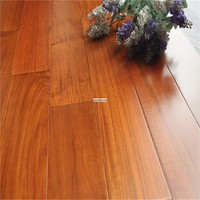 18mm natural eco solid prefinished indonesia teak wood flooring
