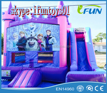 Party Rentals Inflatable Jumpers slide combo frozen theme
