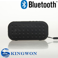 Kingwon music player mini wireless YPS-B101 bluetooth speaker support TF card USB card and FM radio