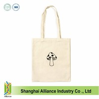 Blank Plain Natural Color Tote Bag, Cotton Canvas Tote Bag