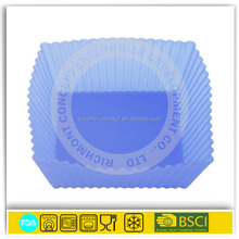Wholesale Best Food Grade 2015 new innovative silicone afternoon tea cupcake 4sets