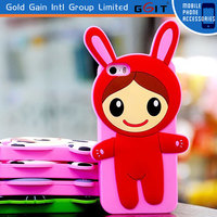 Fashionable 3D Rinka Doll Silicone Case For Samsung S3 I9300 Soft Silicon Case For Galaxy S3