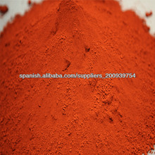 óxido de hierro negro, rojo, amarillo, marrón Fe2O3