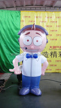2015 Hot sale advertising giant inflatable boy cartoon for sale