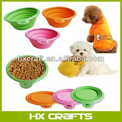 Dog Portable Silicone Pet Expandable/Collapsible Travel Bowl