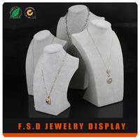 hot selling originality paper twine mannequin jewelry display
