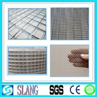 High security stainless steel wleded wire mesh fence/stainless steel crimped wire mesh