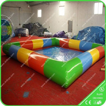 2015 summer Children favorite entertainment and games inflatable water pool