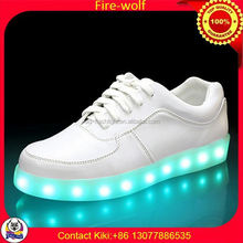2012 New Design Casual Shoes Factory led luminous shoes for dancer