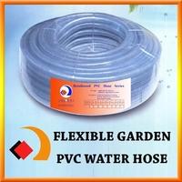 Transparent Pvc Reinforced Braided Garden Hose