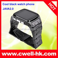 Quad-band GSM watch phone TW810 full metal body mobile phone