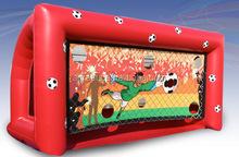 Vendita calda porta da calcio gonfiabile/target g6044