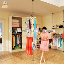 Inoxidable baoyouni estante de la ropa ropa polo extensor de rejilla de secado dq-0777-b r1
