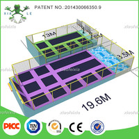 Best Hot Sale Gymnastic Professional Trampoline Park Mini Set