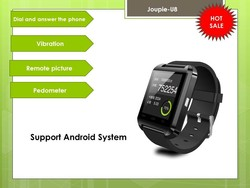Joupie-U8 Bluetooth 4.0 Smart Wrist Wrap Watch Phone for Smartphones IOS and Android