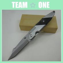 Knives Folder 5CR13 Sanding Blade Linerlock With Pocket Clip