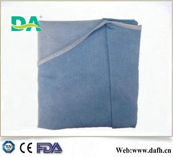 Dayanıklı alkol ve elektrostatik 3- Anti takviyeli spunlace cerrahi önlük