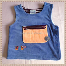 2015 new style baby cotton vest hot wholesale from china supplier