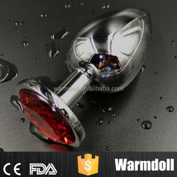 Hot Metal Butt Plug Tail Stainless Steel Anal Plug Sex Toys