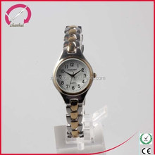 woman luxury bracelet watches 2 tones plating watch