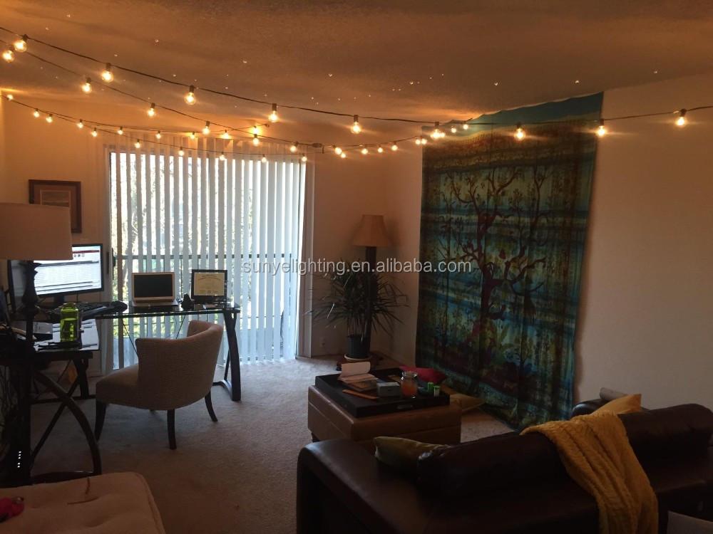 g luces de cadena con claras para la decoracin exterior e interior fiesta en