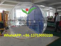 Giant christmas decoration inflatable snow globe Dia. 3m