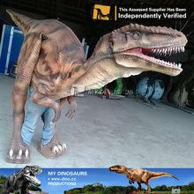 Mi dino- realista de la vida tamaño dinosaurio traje traje para la venta